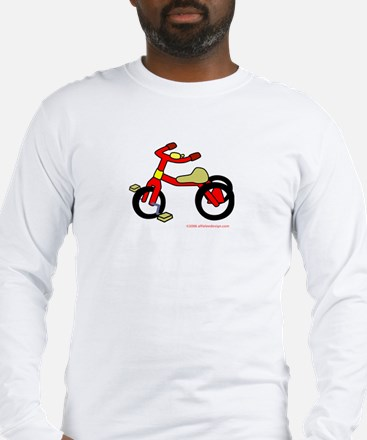 Wee Big Tricycle! Long Sleeve T-Shirt