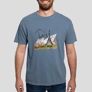 Paris Mens Comfort Colors Shirt