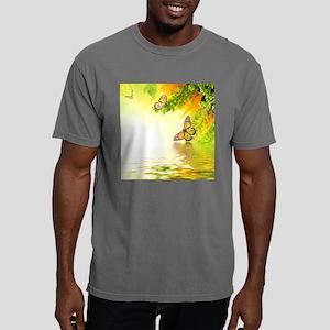 Butterflies Mens Comfort Colors Shirt