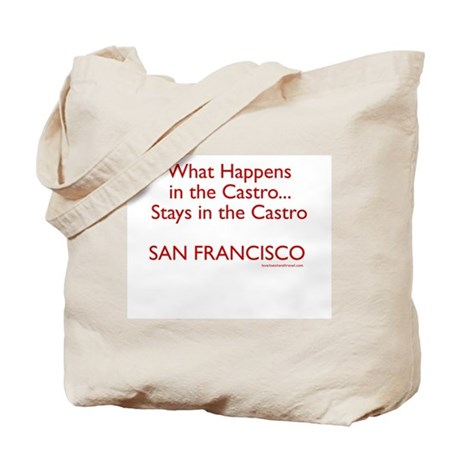 What Happens in the Castro - Tote Bag