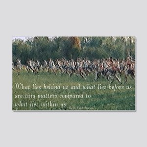 Running a Race 20x12 Wall Decal