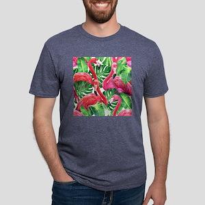 Flamingo Mens Tri-blend T-Shirt