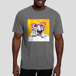 Hipster Dog Mens Comfort Colors Shirt