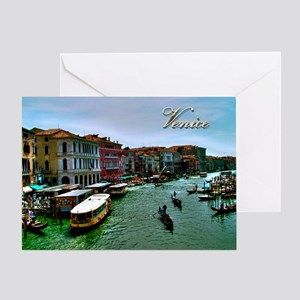 Venice - Grand Canal Greeting Cards