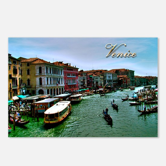 Canal Grande   Venice Postcards (Package of 8)