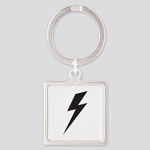 Bolt Square Keychain