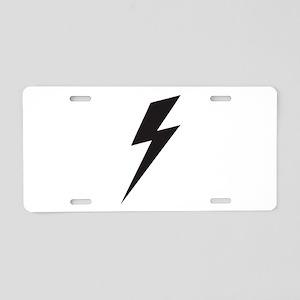 Bolt Aluminum License Plate