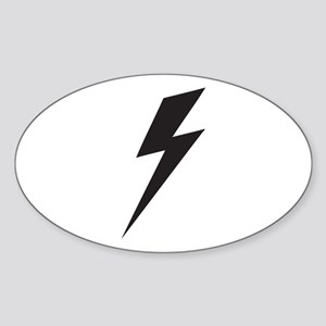 Bolt Sticker (Oval)