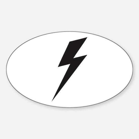 Bolt Sticker (Oval)