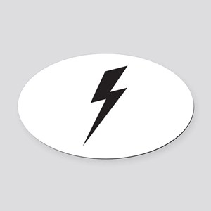 Bolt Oval Car Magnet