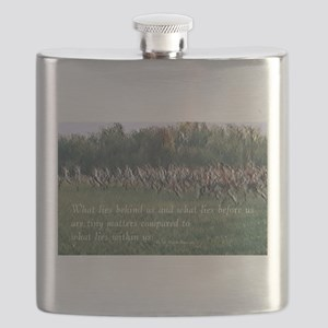 Running a Race Flask