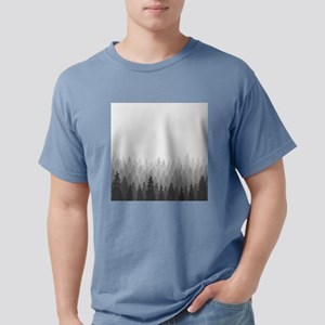 Gray Forest Mens Comfort Colors Shirt