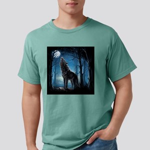 Howling Wolf Mens Comfort Colors Shirt