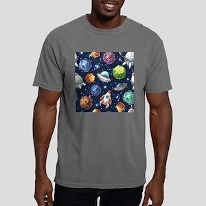 Cartoon Space Mens Comfort Colors Shirt
