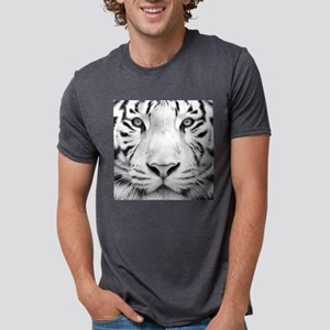 Realistic Tiger Painting Mens Tri-blend T-Shirt