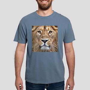 Realistic Lion Painting Mens Comfort Colors Shirt