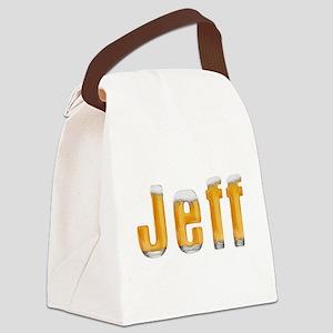 Jeff Beer Canvas Lunch Bag