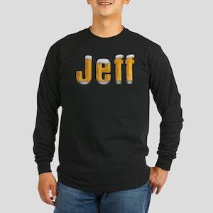 Jeff Beer Long Sleeve Dark T-Shirt