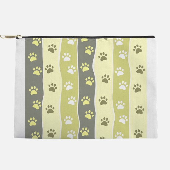 Cute Paw Prints Makeup Pouch