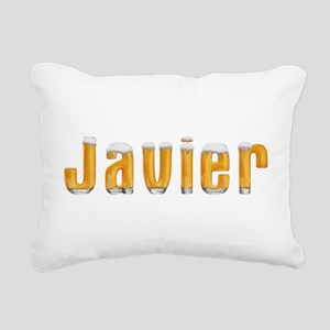Javier Beer Rectangular Canvas Pillow
