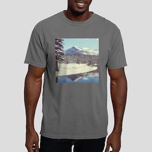 Winter Mountains Mens Comfort Colors Shirt