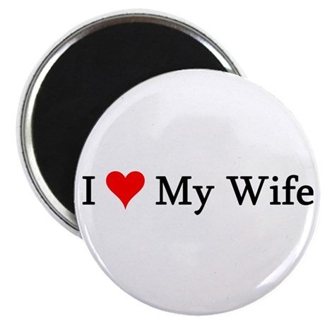 "I Love My Wife 2.25"" Magnet (100 pack)"