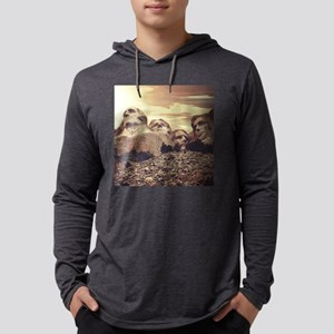 Mount Rushmore Mens Hooded Shirt