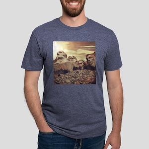 Mount Rushmore Mens Tri-blend T-Shirt