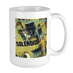 Solenoid CD cover for Cafe press Mugs