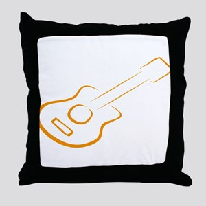Gitarre Throw Pillow