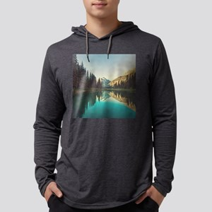 Glacier National Park Mens Hooded Shirt