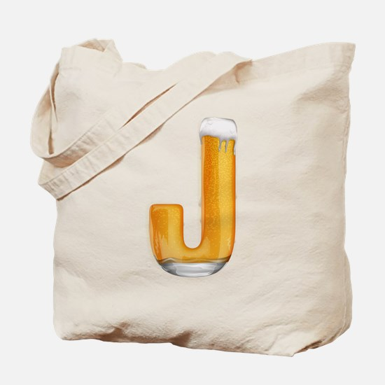 J Beer Tote Bag