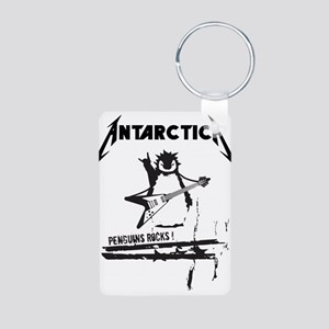 Antarctica Aluminum Photo Keychain
