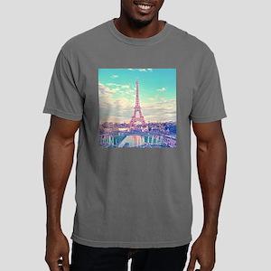 Eiffel Tower Mens Comfort Colors Shirt