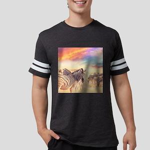 Beautiful Zebras Mens Football Shirt