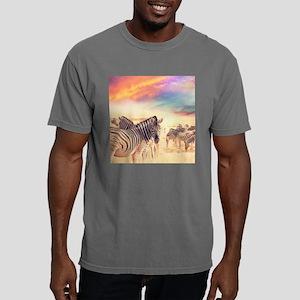 Beautiful Zebras Mens Comfort Colors Shirt