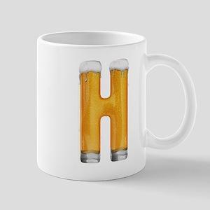 H Beer Mug