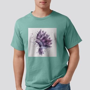 Purple Headdress Mens Comfort Colors Shirt