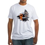 Hope Multiple Sclerosis Fitted T-Shirt