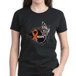 Hope Multiple Sclerosis Women's Dark T-Shirt