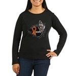 Hope Multiple Sclerosis Women's Long Sleeve Dark T