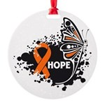 Hope Multiple Sclerosis Round Ornament