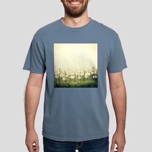 Rustic Daisies Mens Comfort Colors Shirt