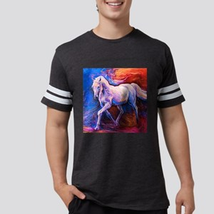 Horse Painting Mens Football Shirt