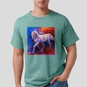 Horse Painting Mens Comfort Colors Shirt