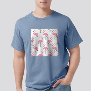 Cute Flamingo Mens Comfort Colors Shirt