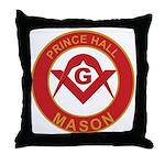Prince Hall Throw Pillow