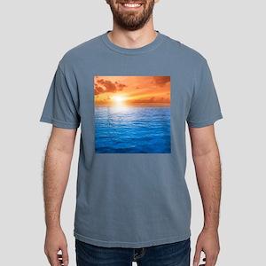 Ocean Sunset Mens Comfort Colors Shirt