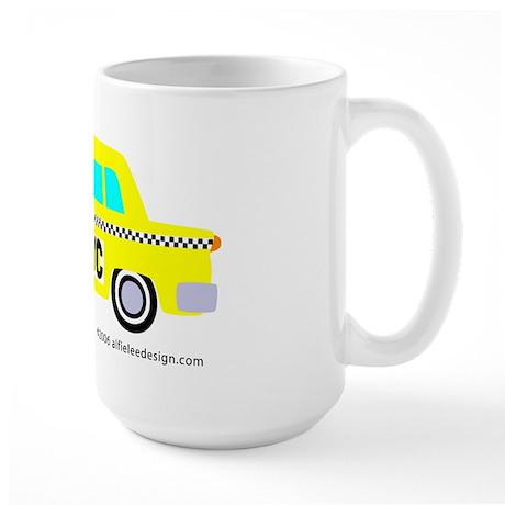 Wee New York Cab! Large Mug