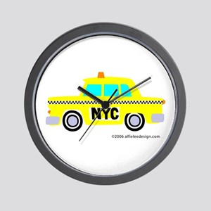 Wee New York Cab! Wall Clock